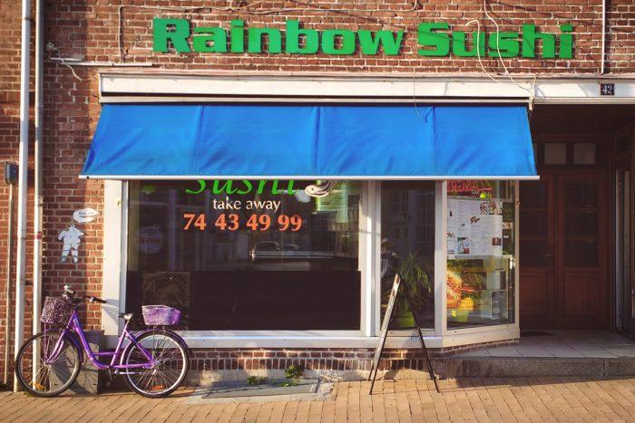 Rainbow Sushi Sønderborg storefront